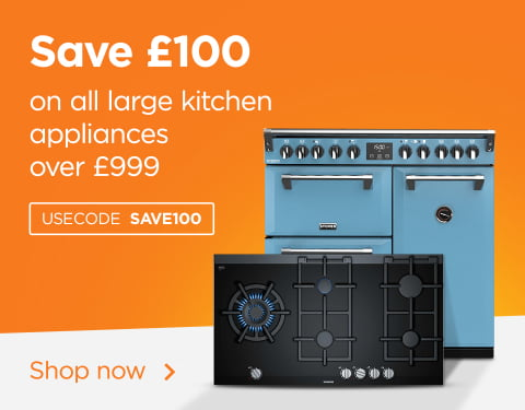 £100 off large kitchen appliances over £999