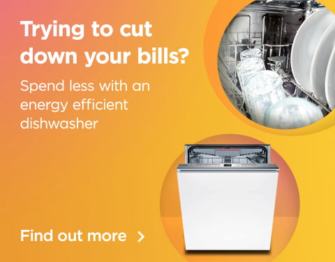 trying to cut down on your bills? spend less with an energy efficient dishwasher find out more