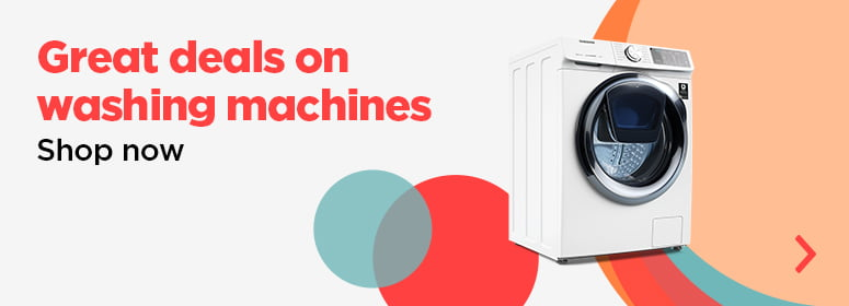 Great deals on washing machines