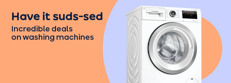 Have it suds-sed Incredible deals on washing machines