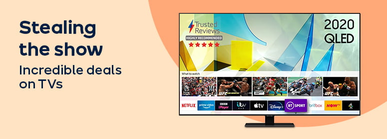 Stealing the show incredible deals on TVs