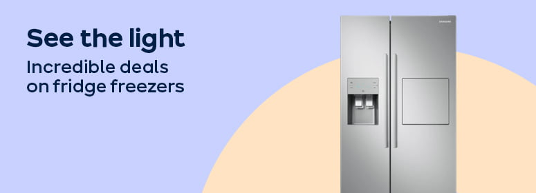 See the light incredible deals on fridge freezers