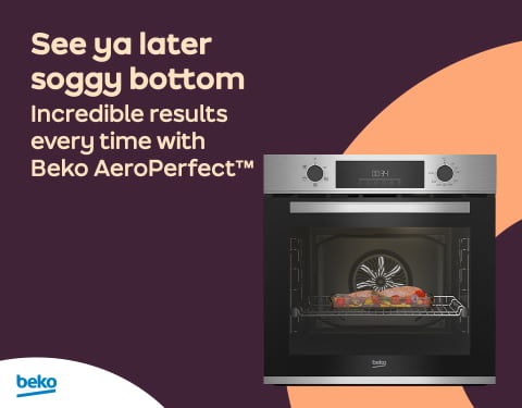 See ya later soggy bottom. Incredible results every time with Beko AeroPerfect